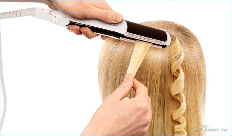 Как сделать волосы прямыми если нет плойки