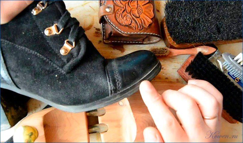 чистка белой обуви видео