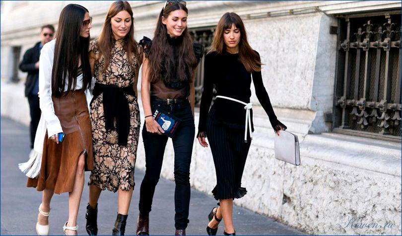 Модные тенденции в одежде 2018 год