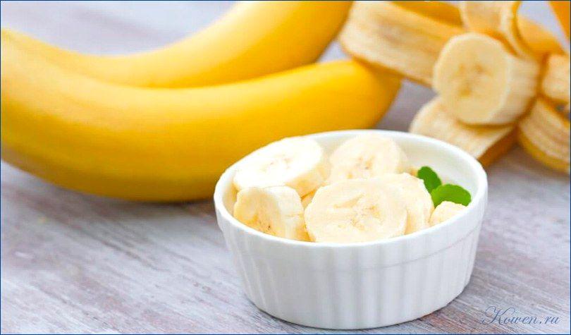 Банановая диета на 3 и 7 дней: меню, отзывы и результаты.