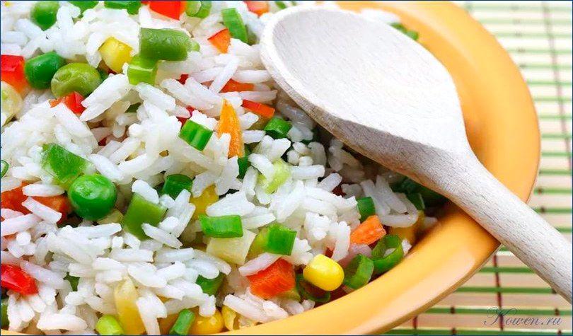 Рисовая диета питание